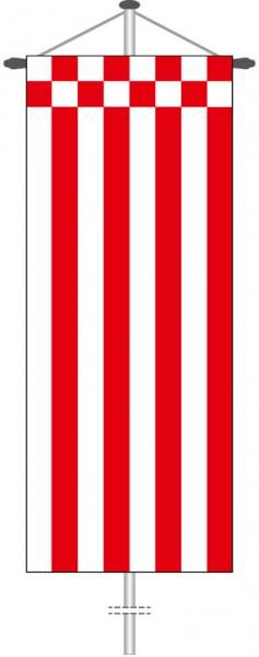 Bremen - Streifenflagge als Bannerfahne