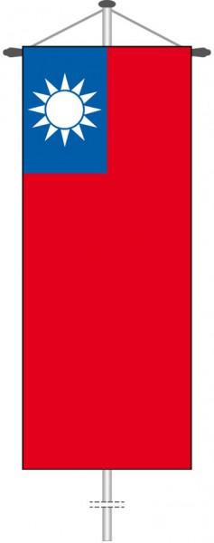 Taiwan als Bannerfahne