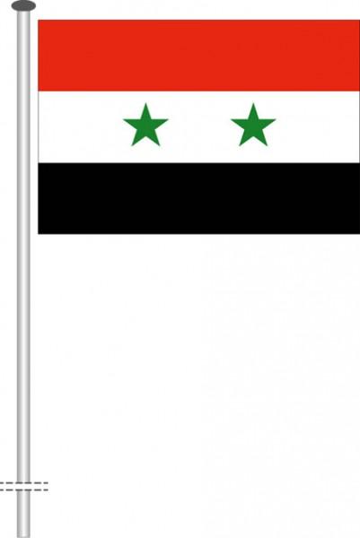 Syrien als Querformatfahne