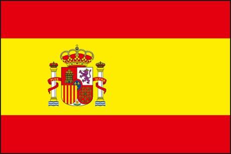 Spanien als Fanfahne