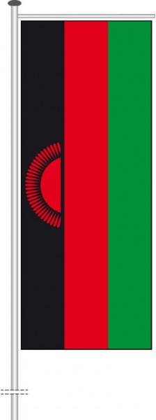Malawi als Auslegerfahne
