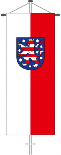 Thüringen - Dienstflagge als Bannerfahne