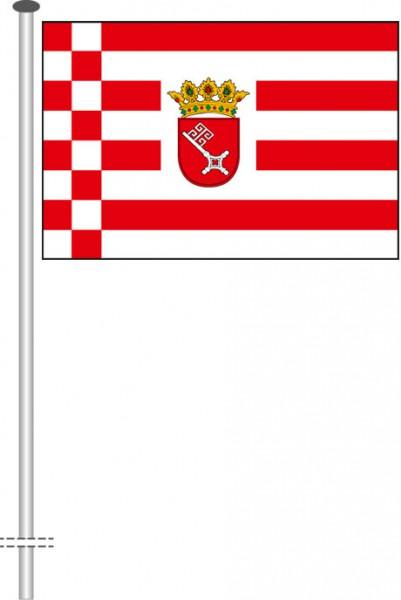 Bremen - Dienstflagge als Querformatfahne