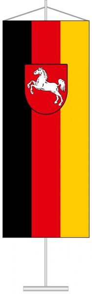 Niedersachsen - Bürgerflagge als Tischbanner