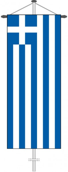 Griechenland als Bannerfahne