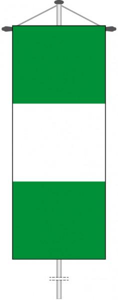 Nigeria als Bannerfahne