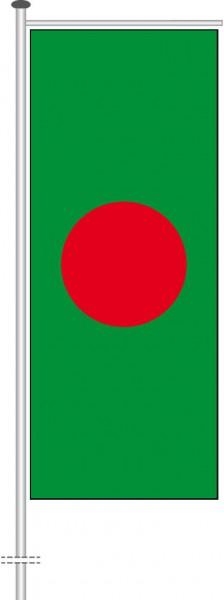 Bangladesch als Auslegerfahne