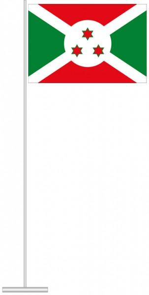 Burundi als Tischfahne