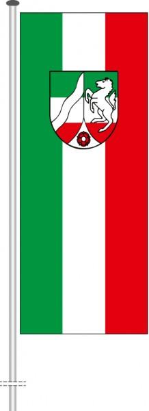 Nordrhein-Westfalen - Bürgerflagge als Hochformatfahne