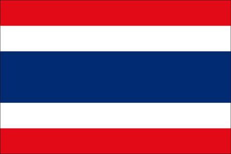 Thailand als Fanfahne