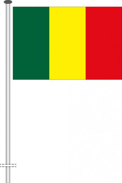Mali als Querformatfahne