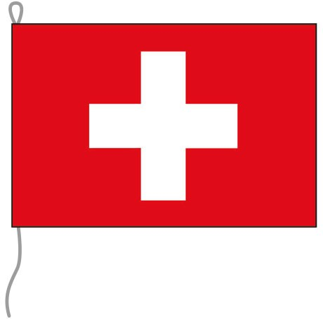 Schweiz als Bootsfahne