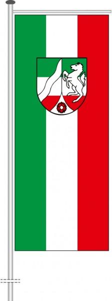 Nordrhein-Westfalen - Bürgerflagge als Auslegerfahne