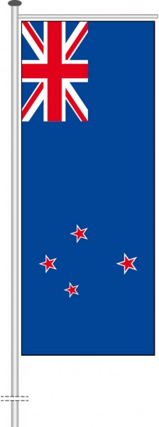 Neuseeland als Auslegerfahne