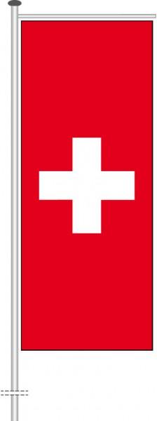 Schweiz als Auslegerfahne
