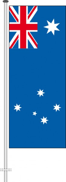 Australien als Hochformatfahne