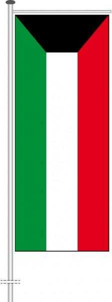 Kuwait als Auslegerfahne