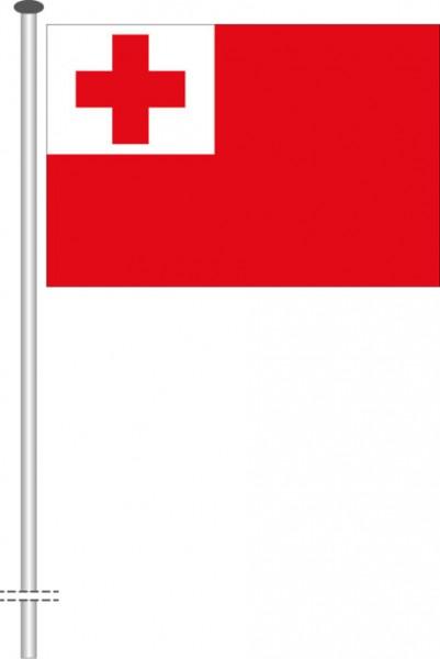Tonga als Querformatfahne