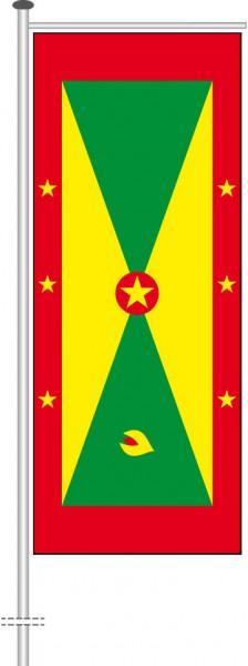 Grenada als Auslegerfahne