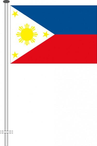Philippinen als Querformatfahne