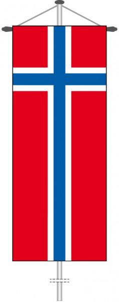 Norwegen als Bannerfahne