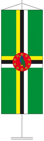 Dominica als Tischbanner