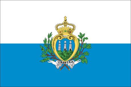 San Marino als Fanfahne