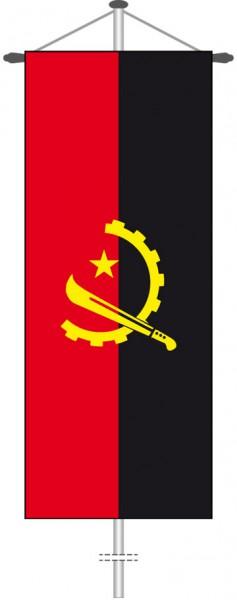 Angola als Bannerfahne