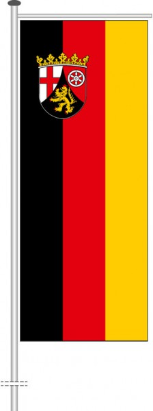 Rheinland-Pfalz - Bürgerflagge als Auslegerfahne
