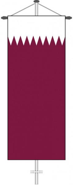 Katar als Bannerfahne