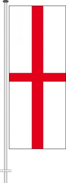 England als Hochformatfahne