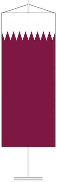 Katar als Tischbanner