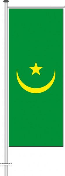 Mauretanien als Auslegerfahne