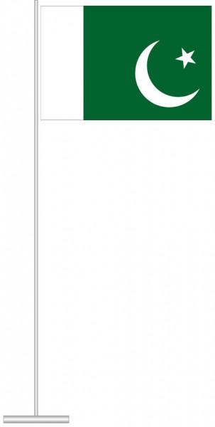 Pakistan als Tischfahne