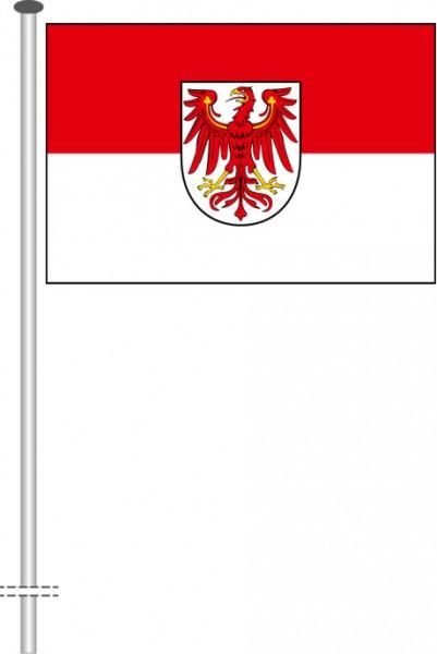 Brandenburg - Bürgerflagge als Querformatfahne