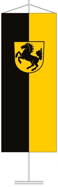 Stuttgart mit Wappen als Tischbanner
