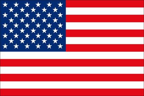 USA als Fanfahne