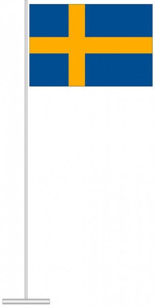 Schweden als Tischfahne