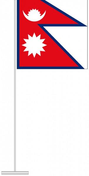 Nepal als Tischfahne