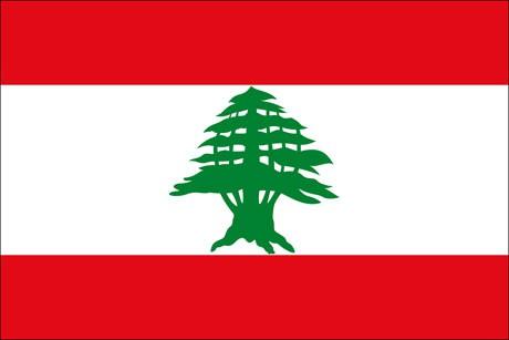 Libanon als Fanfahne