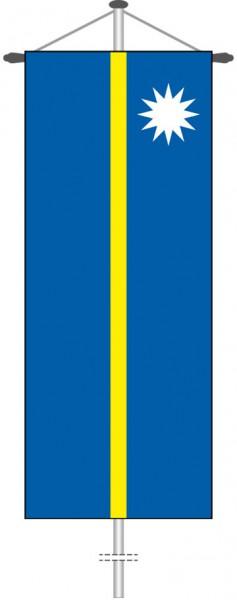 Nauru als Bannerfahne