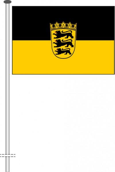 Baden-Würtemberg - Dienstflagge als Querformatfahne