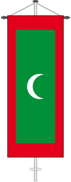 Malediven als Bannerfahne