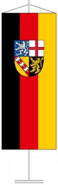 Saarland - Bürgerflagge als Tischbanner