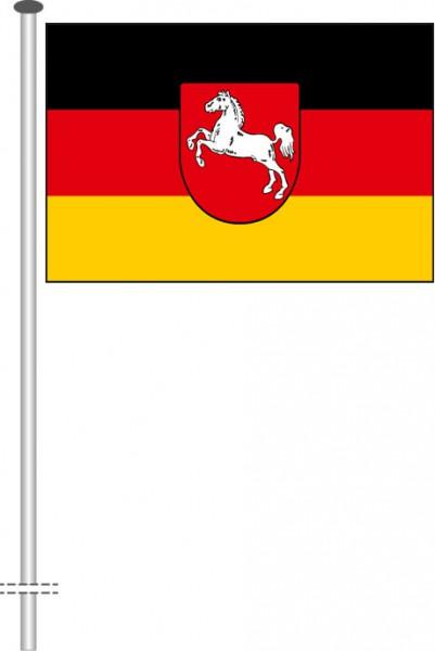 Niedersachsen - Bürgerflagge als Querformatfahne