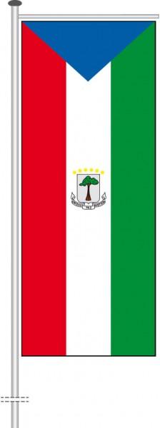 Aequatorialguinea als Auslegerfahne