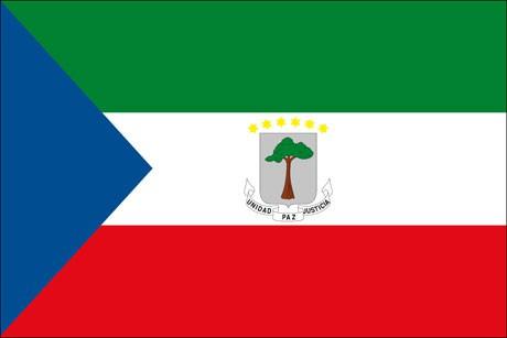 Äquatorialguinea als Fanfahne