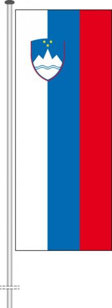 Slowenien als Hochformatfahne