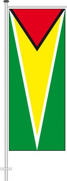 Guyana als Auslegerfahne