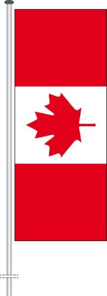 Kanada als Hochformatfahne
